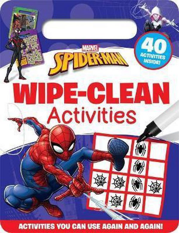 Marvel Spider-Man Wipe Clean Activities