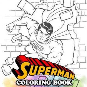 Superman Coloring Book for Kids