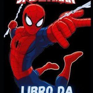 Marvel Ultimate Spider-Man libro da colorare